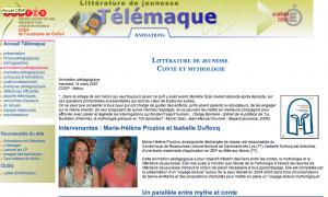 Capture d'écran site télémaque