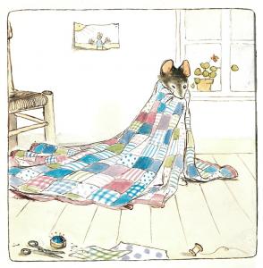 Ernest et Célestine, le patchwork,Gabrielle Vincent,Casterman jeunesse,1982